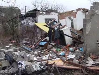 На Луганщині проросійські окупанти обстріляли мирний населений пункт