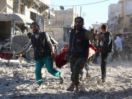 Авіація РФ завдала удару по сирійському місту Ідліб: багато загиблих і поранених