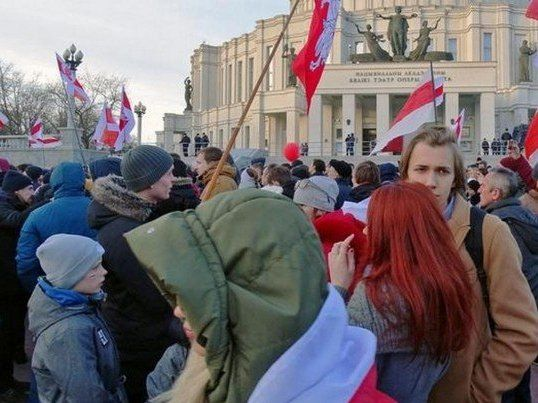 Білоруська народна республіка: у центрі Мінська – масові арешти
