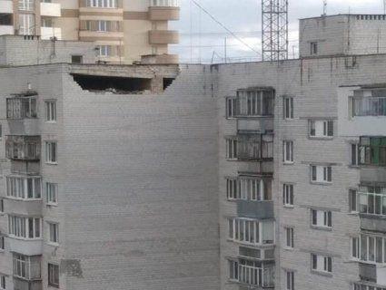 «НП» на Київщині: будівельник вивалився з люльки підйомника (фото)