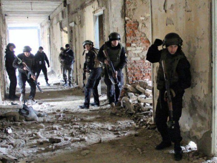 Українські військові готуються до боїв у містах (фото)
