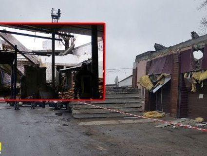 У Києві жінку розчавила бетонна плита