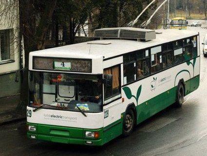Все для людей: до Гаразджи зняли два тролейбуси