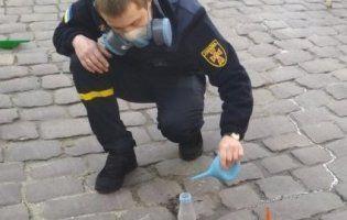 У центрі Львова розлили кілограм ртуті