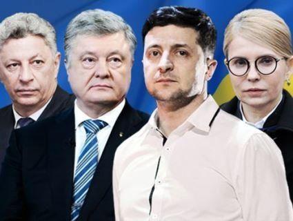 На виборах президента України-2019 лідирує Зеленський: відомі попередні дані екзит-полу