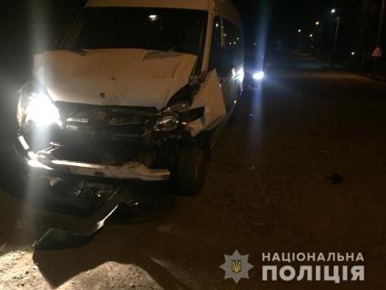 Авто, що перевозило виборчі бюлетні, потрапило в ДТП