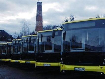 Львовом курсуватимуть 12-метрові автобуси