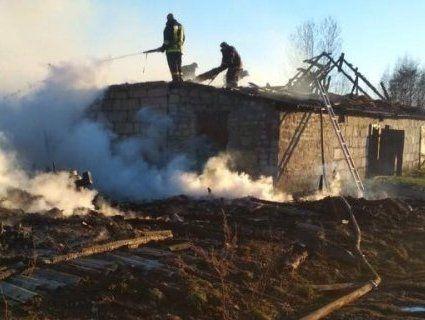 Дитячі пустощі: на Волині підпалили господарські споруди (фото)