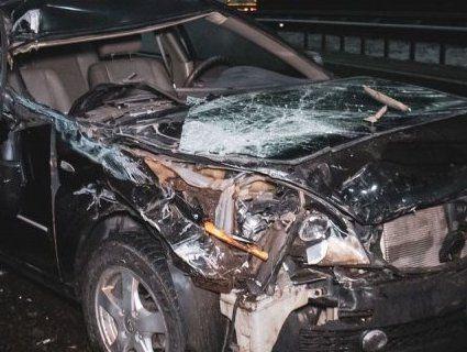 У Києві зіштовхнулися автомобілі – трапилася пожежа (фото)