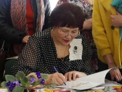 Волинська письменниця презентувала книжку для дітей (фото)