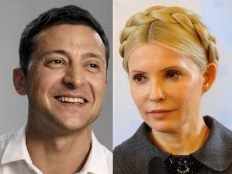 Подумала: Тимошенко проігнорувала Зеленського