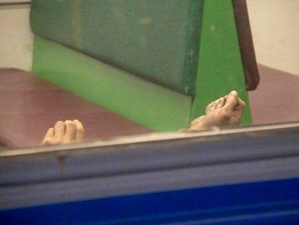 В столичній електричці знайшли тіло чоловіка (відео, фото)