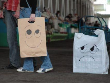 У Львові супермаркети відмовляються від поліетиленових пакетів