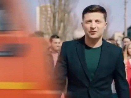 Поліція розшукає авторів ролика, які «збили» Зеленського КамАЗом