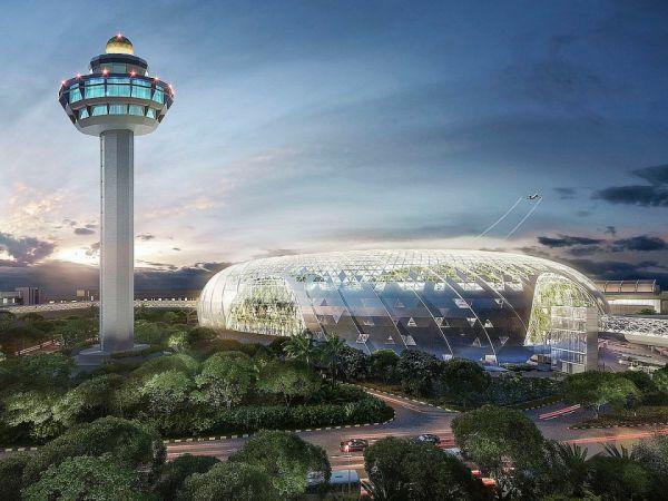 Скарб Сінгапуру: як виглядають ліс і водоспад в аеропорту (відео)