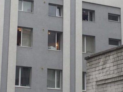 У Львові затриманий погрожував кинутися з вікна поліції