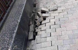 У Києві біля посольства РФ стався вибух: причина вже з'ясована