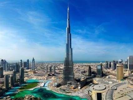 В найвищу будівлю світу вдарила блискавка