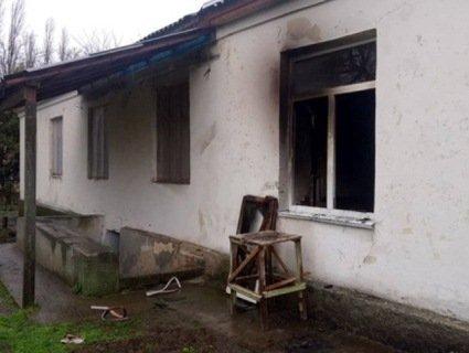 На Миколаївщині невідомі підпалили школу (фото)