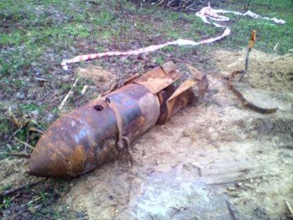 На Волині знайшли майже 300-кілограмову авіабомбу