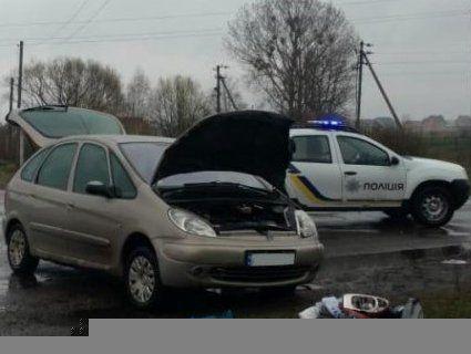 ДТП на Волині: постраждала водійка (фото)