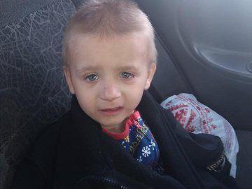 У Луцьку знайшли 4-річного хлопчика, який блукав містом