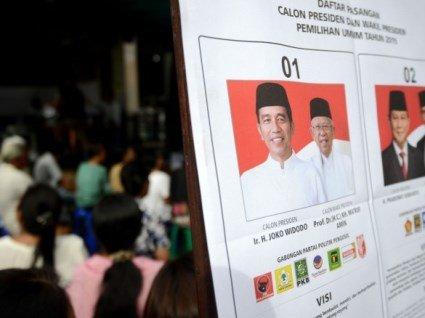 В Індонезії під час виборів померли 54 члени виборчкому