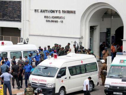 Відповідальність за теракти в Шрі-Ланці взяла на себе «Ісламська держава»