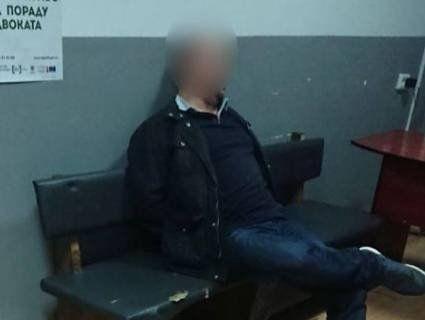 У Луцьку п'яний німець намагався викрасти поліцейське авто (фото)