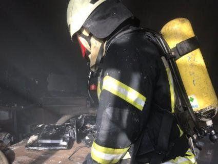 В Києві загорілася будівля Міністерства освіти