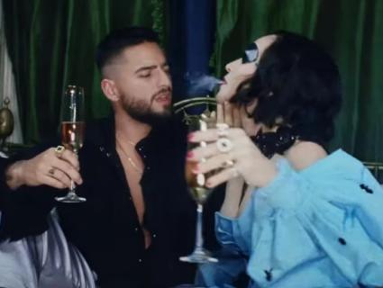 «Одноока» Мадонна запалила з молодим латиносом у новому кліпі (відео)