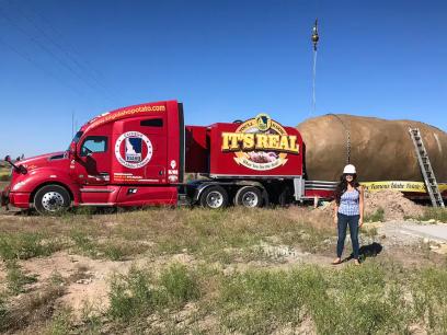 У США створили готель у гігантській картоплині (фото, відео)