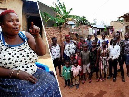 Мати 44 дітей розчулила всіх своєю розповіддю
