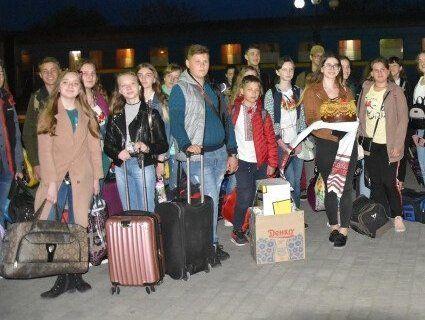 Діти з Волновахи приїхали до Луцька на Великодні свята (фото)