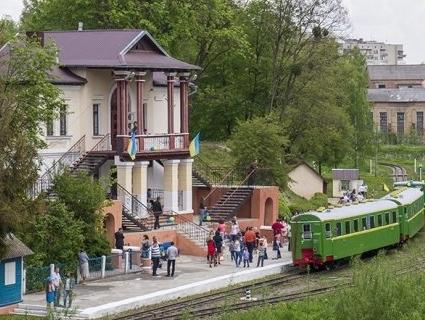 Луцька дитяча залізниця відкриває 65 сезон