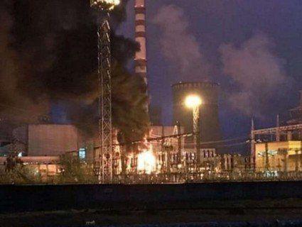 Переполох у Вараші: на Рівненській АЕС уночі спалахнула пожежа (відео)