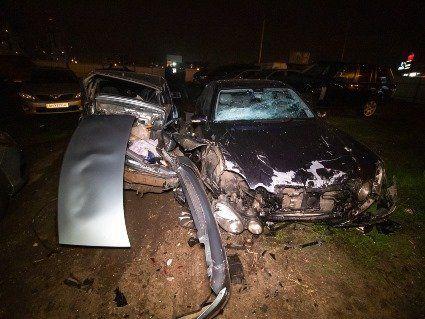У Києві «Новий Зайцев» розніс вщент сім авто: водій був п'яний, як чіп (фото, відео)