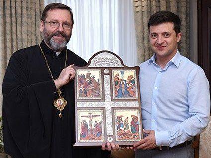 Зеленський зустрівся із главою УГКЦ (фото)