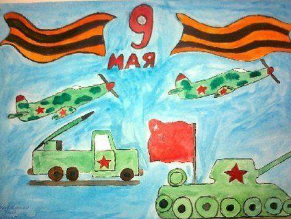 В Україні директор школи змушував дітей малювати листівки з радянською символікою