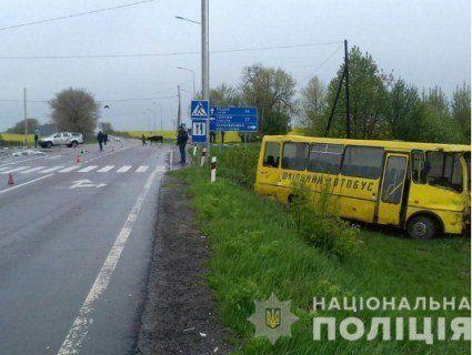 На Волині у смертельну ДТП потрапив шкільний автобус (фото, відео)