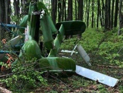 На україно-румунському кордоні впав вертоліт, що перевозив контрабанду