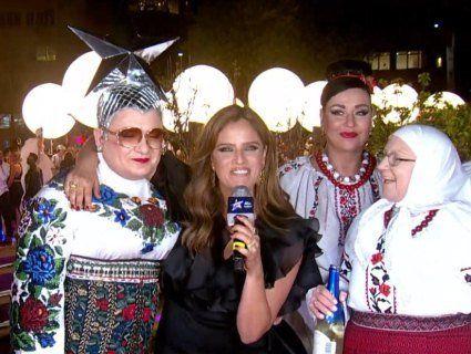 На Євробаченні Сердючку із «мамою» піймали за розпиванням алкоголю