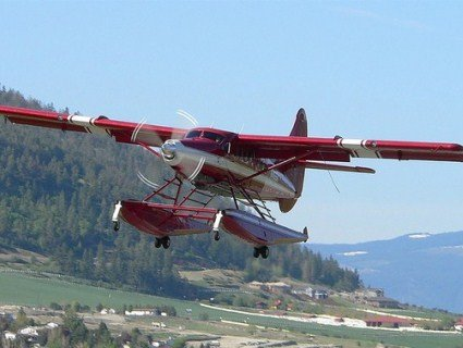 Над Аляскою зіткнулися два літаки
