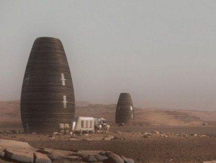 Житлову капсулу для заселення Марсу роздрукували на 3D-принтері (відео)