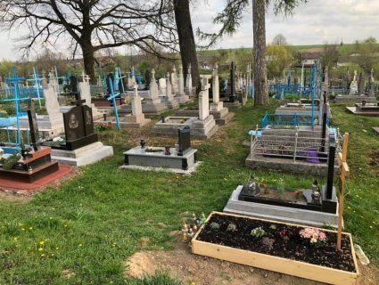 «Похоронна екологія», або як священик на Львівщині очистив цвинтар від пластику