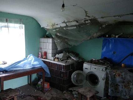 На Тернопільщині  кульова блискавка вибухнула в житловому будинку