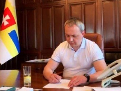 Голова Рівненської ОДА подав у відставку (відео)