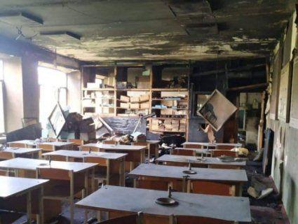 Недбалість чи підпал: на Волині в міській школі вигорів клас