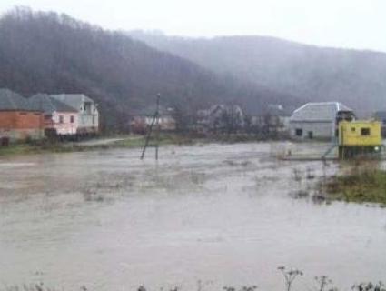 На Закарпатті затопило 30 гектарів сільськогосподарських угідь