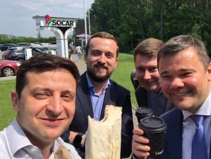 «Найліпша реклама»: завдяки Зеленському в Києві вдвічі виросли продажі шаурми